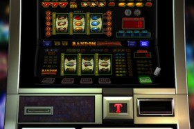 Hier kunt u een van de fruitkasten genaamd Random Flashback spelen. Dit is een gokspel van TopGambler.