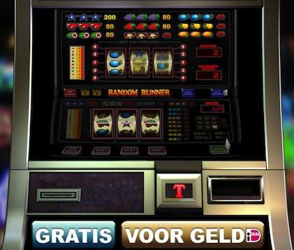 Hier kunt u een van de fruitkasten genaamd Random Runner spelen. Dit is een gokspel van TopGambler.
