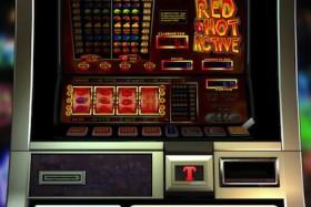 Hier kunt u een van de fruitkasten genaamd Red Hot Active spelen. Dit is een gokspel van TopGambler.