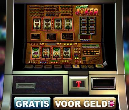 Hier kunt u een van de fruitkasten genaamd SuperJoker spelen. Dit is een gokspel van TopGambler.