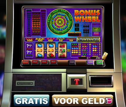 Bonus wheel van het PowerJackpot Casino