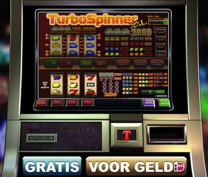 Hier kunt u op onze fruitmachine Turbo Spinner spelen